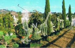 Wholesale Topiary Animal Shapes